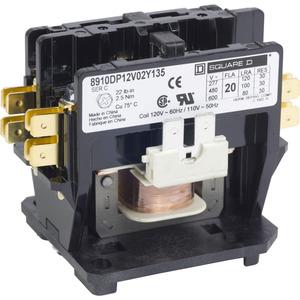 8910DP12V02Y135 CONTACTOR 600VAC 20AMP D