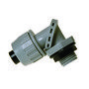 "Hubbell-Raco 4732 Liquidtight Connector, Adjustable to 90°, 1/2"", Non-Metallic"