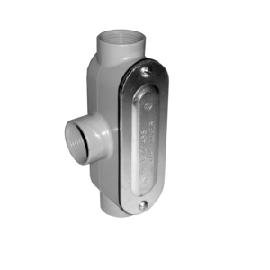 """Appleton TC50DCG Conduit Body With Cover/Gasket, Type TC, Size: 1/2"""", Threaded"""