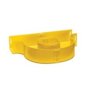 Leviton S2FSL-INL 2x2 Fiber Storage Loop Inline, Yellow