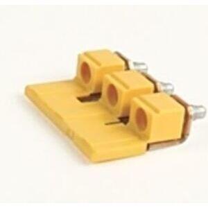 Allen-Bradley 1492-CJJ8-2 Terminal Block Jumpers, 2P, Gray, Screw Type, Center, for 1492-J6