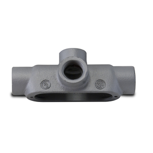 "Appleton TA75-M Conduit Body, Type TA, 3/4"", Form 35, Malleable Iron"