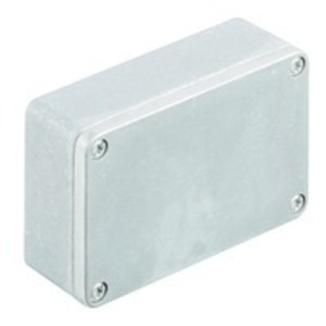 Weidmuller 1565250000 Junction Box, NEMA 4X, Screw Cover, 64 mm x 98 mm x 34 mm, Aluminum