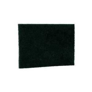 "3M 96-20 General Purpose Scouring Pad, Green, 6"" x 9"""