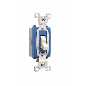 Pass & Seymour PS15AC1-ISL Lighted Switch, 15A, Ivory, Lighted when OFF