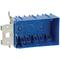 Carlon B349ADJ Switch/Outlet Box, 3-Gang, Adjustable, Depth: 3
