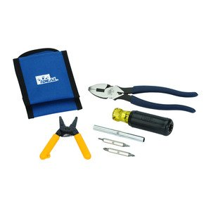 Ideal 35-5799 TOOL KIT IDEAL ELECTRICIANS CONSIST OF 3: 35-505 - PCKT PAL TOOL HOLSTER