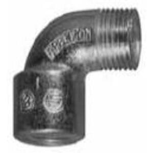 "Appleton LMF90-75 Rigid Elbow, 3/4"", Short, Male to Female, 90°, Malleable Iron"
