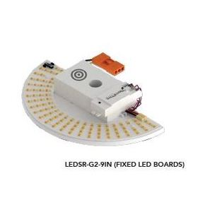 Light Efficient Design RPT-P-LEDSR-G2-9IN-8L-840-FWFC LED RetroFit Kit w/Occ. Sensor