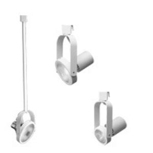 Lithonia Lighting LTCGMBRPAR30WH Track Head, Line Voltage, PAR30, 1 Lamp, 75W, White