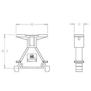 Allen-Bradley 1492-GM35 Marker, Group, Carrier