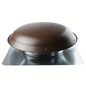 Ventamatic VXSVRAABL Power Attic Ventilator, Roof Mount, 1600 CFM, Black