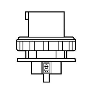 Pass & Seymour PS460B12-W P/S INLET 4W 60A
