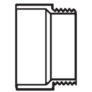 Lasco Fittings D109-015 D109015 1-1/2 MALE