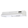 BP124WHN RANGE HOOD BLK-ON-WHT 24 IN