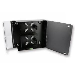 Corning Cable Systems WCH-04P Connector Housing, Wall Mount, 4 CCH Panels/Cassettes, Up to 96 Fiber