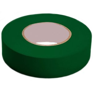 "3M 1400C-GREEN Vinyl Electrical Tape, Green, 3/4"" x 60'"