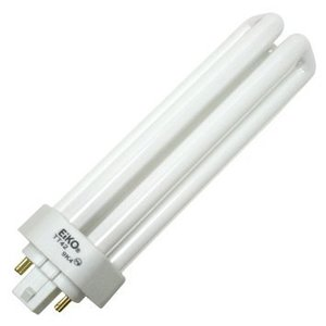 Eiko TT42/65 Triple Tube CFL Lamp, 42W, 4P