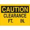 22864 TRAFFIC SIGN: INDUSTRIAL