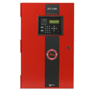 Honeywell IFP-1000 Fire Alarm Control Panel, 120VAC, 50/60Hz, 2.7A, Red