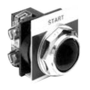 ABB CR104PBG10U1A3 Push Button, Recessed Multi Head, 1 NO Contact, 10A, 600V, Kitted