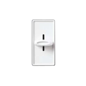 Lutron S-600-WH Slide Dimmer, 600W, Single-Pole, Skylark, White