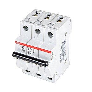 ABB S203-K0.5 Miniature Circuit Breaker, 3P, 0.5A
