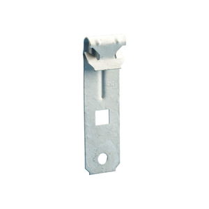 "nVent Caddy VF14 Purlin Clip, Flange: 1/16"" to 1/4"", Hole: 1/4"", Steel"