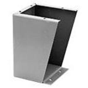 "nVent Hoffman AFK2408 Floor Stand Kit, Height: 24"", Steel/Gray"