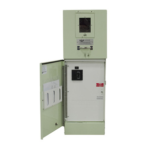 Milbank CP3B1213JA50 Metered Pedestal, 200A, 120/240VAC, Fused Pullout, 1 x 50A Breaker