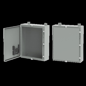 nVent Hoffman REXMOD-1428 Wall-Mount Enclosure, Continuous Hinge With Clamps, NEMA 4