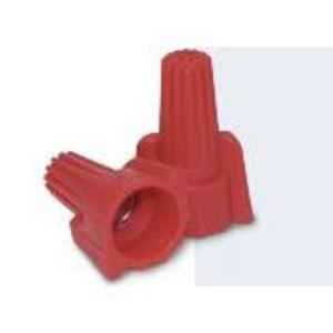 King Innovation 67091 Wire Connector, Winged, 18 - 8 AWG, 600V, Red