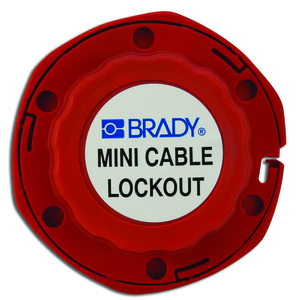 Brady 51442 Mini Cable Lockout W/nylon Cable