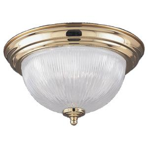 Sea Gull 7595-02 Close To Ceiling One Light Pol