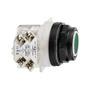 9001SKR1GH5 P/B FLUSH GREEN W/ CONTACTS