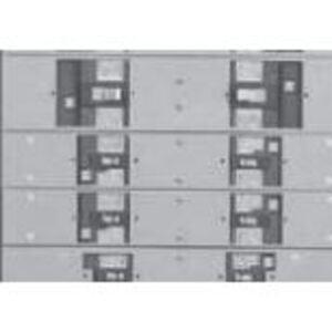 """ABB AFP3SFD Panel Board, Filler Plate Kit, Dual Mount, 31"""" - 44"""" Width"""