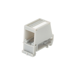 Panduit CADIN1BL DIN rail mount adapter with label, singl