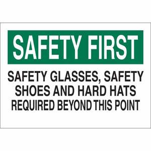 25244 PROTECTIVE WEAR SIGN