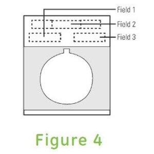GE P9ACP2NGEN METAL NP/2/BLK-FIG4 CUSTOM ENGRAVE