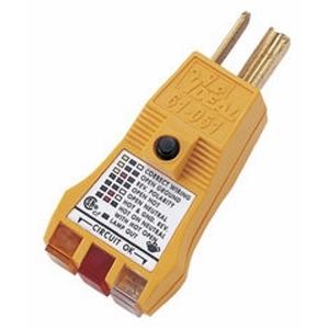 61-051 GFCI E-Z CHECK PLUS PLUG TESTER