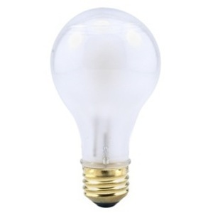 SYLVANIA 60A/HAL/F-120V Halogen Bulb, A19, 60W, 120V, Frosted *** Discontinued ***