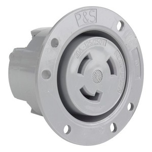 Pass & Seymour L1030-FO TRNLK FLANGED OUTLET 3W 30A125/250V