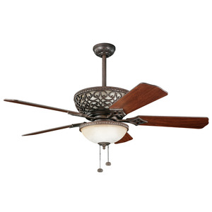 Kichler 300113TZ 52 INCH CORTEZ FAN *** Discontinued ***