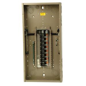 Eaton CH32L150D Load Center, Main Lug, 150A, 120/240V, 1PH, 32/32, NEMA 1