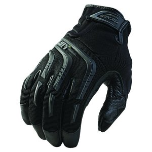 Lift Safety GTA-9KL Tacker Work Gloves - Size: Large, Black