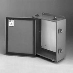 Eaton B-Line 1084-4LC JIC Enclosure, NEMA 12, Lift-Off Cover, Steel
