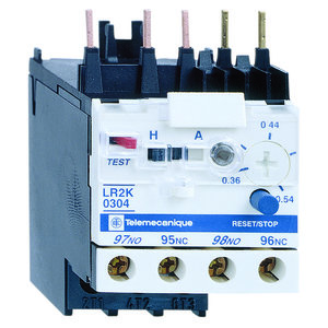 Square D LA7F902 Overload Relay, Mounting Plate, for TeSys Type F Contactors