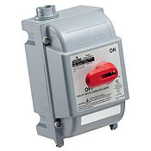 DS30-FAX FU DISC SW WTITE ENCL 30A600V