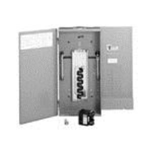 Eaton BR2024NC125 Load Center, Main Lug, Convertible, 125A, 120/240VAC, 1PH, 20/24