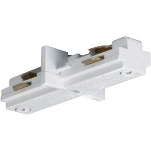 Satco TP144 Nuvo White Mini Straight Connector